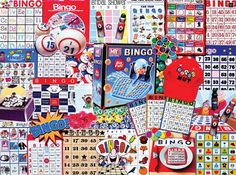 Bingo Nut (300 Piece E-Z Grip Puzzle by White Mountain)
