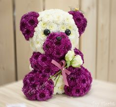TOYS made of Fresh flowers @ Toy Florist