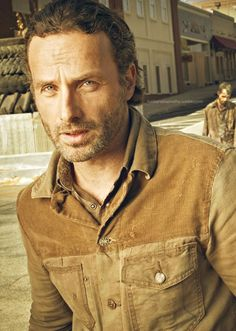 Andrew Lincoln... I love a handsome, scruffy man who can take down scores of zombies for me.