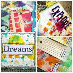 Color explosion Lindy's Stamp Gang
