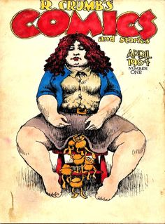 Robert Crumb's Comics and Stories #1 (Rip-Off Press, dated April, 1964, first published in 1969)