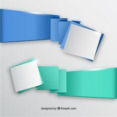 Banners de origami