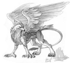 http://www.deviantart.com/art/Pencil-Gryphon-139729202