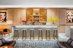 12 NYC Restaurants Serve Up Hot Design | Projects | Interior Design - Gen Hotel Wine Bar