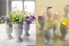Very cute!  I've done the candles before, but never thought to put flowers in them!!! So doing that this year!