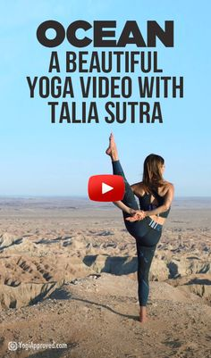 OCEAN - A Beautiful Yoga Video With Talia Sutra