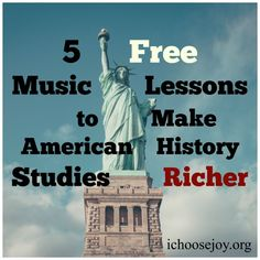 5 FREE Music Lessons for 20th Century American Music Appreciation