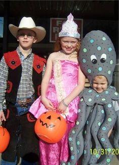octopus costume I made for grandson