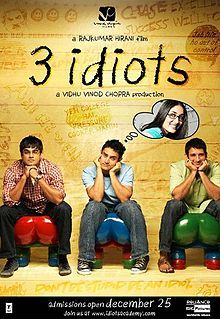My Bollywood: Micro Review: 3 Idiots: Highest First Day Collection On First Day Release of 2009 Movies