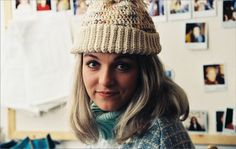 Photos of Laura Palmer - Nicole Leopoldine Staudigl David Lynch Movies, David Lynch Twin Peaks, Sheryl Lee, Laura Palmer, Mary Elizabeth Winstead, Eyebrows, My Girl, Tv Shows, Winter Hats