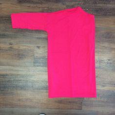 Piko - Fuschia Half Sleeve Top
