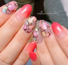 Salons, Nail Art, Nails, Painting, Beauty, Flower, Finger Nails, Living Rooms, Ongles