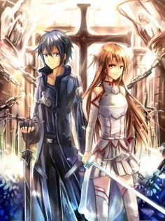 Asuna x Kirito, Sword Art Online