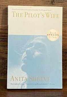Anita Shreve, Pilot Wife, Great Books To Read, Oprah, Author, Club, Learning, Writers, Education