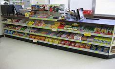 New Handy Store Fixtures Counter Complex