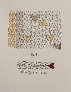 DIY Rubberstamp. #diy #crafts #knitting