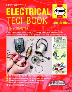 Shop for Manuals, like Haynes Motorcycle Electrical Techbook at Jake Wilson. We have the best prices on cruiser and street bike motorcycle parts, apparel and accessories and offer excellent customer service. Basic Electrical Wiring, Electrical Engineering Books, Electrical Troubleshooting, Electronic Engineering, Mechanical Engineering, Electrical Equipment, Engineering Projects, Engineering Technology, Manufacturing Engineering