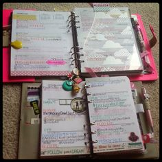 Filofax: Week 42 in My A5 Original and Personal Domino