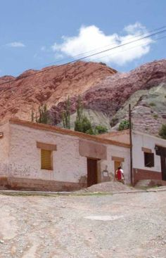 Purmamarca   Jujuy   Argentina Bella, Outdoor Structures, House Styles, World, Xmas, Frases, Argentina, Earth, Country