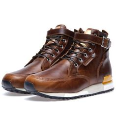 Adidas x KZK ZX Riding Boots 84-Lab (Mustang Brown) I gotta have these!