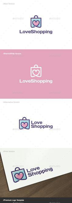 c899c854c1c59f Love Shopping  is a logo that can be used in shopping websites