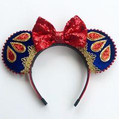 Shanghai Disney Princess Bale Yellow Headband Hair Band New with tag
