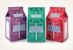 Packaging - Louise Fili Ltd- not only is the packaging beautiful but these cookies are delicious!