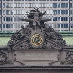 In Avengers: Age of Ultron, the statues adoring the clock outside Grand Central Terminal have been changed to honor the first responders from The Battle of New York in Avengers. Marvel Films, Marvel Heroes, Marvel Avengers, Nick Fury, Bruce Banner, Steve Rogers, Tony Stark, Ezekiel 25, Thor Comic Book