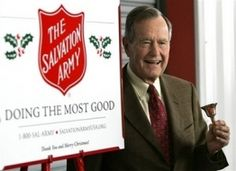 Supporting the Salvation Army