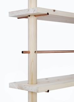 DIY copper pipe and wood shelves Wood Furniture, Furniture Design, Furniture Online, Furniture Ideas, Furniture Dolly, Furniture Showroom, Furniture Movers, French Furniture, Furniture Outlet
