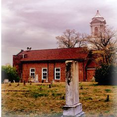 #atlanta #georgia #church #cemetery