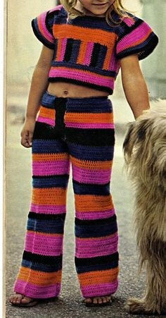 Instant PDF Download Vintage Crochet Pattern to make by ickythecat