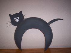 black cat craft for kids
