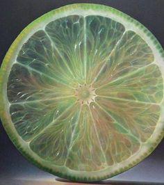 Une rondelle de citron