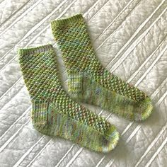 Wildflower Socks by Black Crow Knits - free