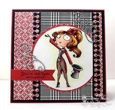 Kraftin' Kimmie Stamps Ruby the Ringmistress