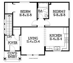 Small Mother in Law Addition   Mother In Law Suite Floor Plans ...
