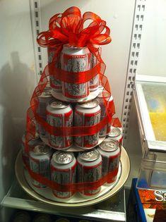beer birthday cake! OMG!!