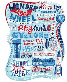 Linzie Hunter is my favorite hand lettering artist.