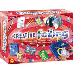 John Adams Fun To Do Creative Foiling  Creative foiling is an exciting craft which can be enjoyed by all ages  Using the special roller  http://www.comparestoreprices.co.uk/creative-toys/john-adams-fun-to-do-creative-foiling.asp