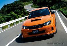 Subaru Impreza WRX STI tS Type RA, ¡impresionante aspecto en color naranja!