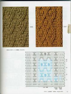 Crochet: technique and pattern NV 70142 2012 Crochet Cable Stitch, Gilet Crochet, Crochet Motifs, Crochet Quilt, Crochet Chart, Crochet Stitches Patterns, Crochet Diagram, Knitting Stitches, Crochet Men