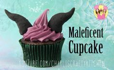 Maleficent cupcakes - video of these on YouTube.com/charliscraftykitchen
