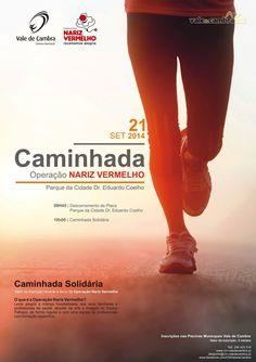 Caminhada Operação Nariz Vermelho > 21 Set 2014, 10h @ Parque da cidade, Vale de Cambra  #ValeDeCambra