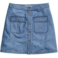 Editor's Pick: A button-front denim skirt for every budget - Denim Skirt, $29.95; at H&M