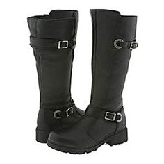 Awesome motorcycle boots for women.