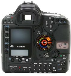 Canon EOS 1D Mark IV ~ Kamar ... This looks like an airplane cockpit to me.
