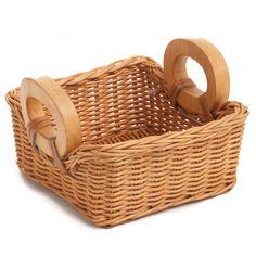 Wicker Napkin Basket in Toasted Oat