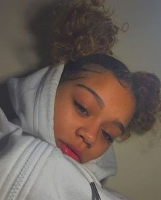 Source by justsayamimi hair styles Cute Natural Hairstyles, Black Girls Hairstyles, Pretty Hairstyles, Mixed Girl Hairstyles, Curly Hair Styles, Natural Hair Styles, Light Skin Girls, Edges Hair, Aesthetic Hair