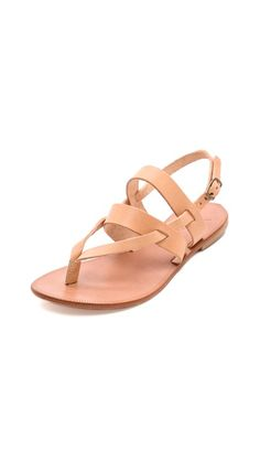 I think these are a summer essential. Joie A La Plage Positano Flat Sandals want these ermahgawd